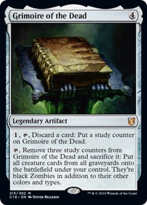 Grimoire of the Dead [Commander 2019] | Murphy's Vault