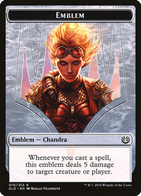 Chandra, Torch of Defiance Emblem [Kaladesh Tokens] | Murphy's Vault
