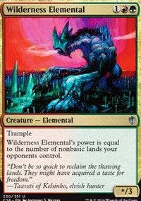 Wilderness Elemental [Commander 2016] | Murphy's Vault