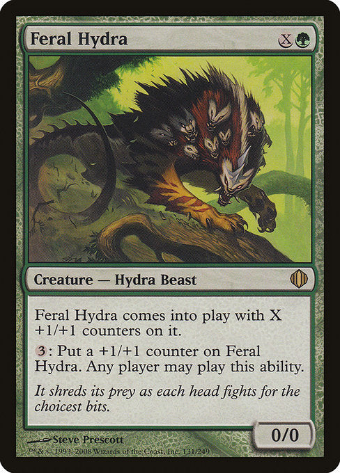 Feral Hydra [Shards of Alara] | Murphy's Vault