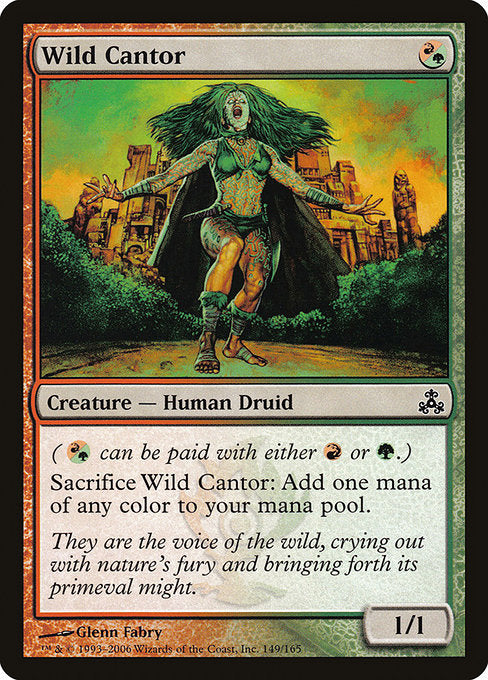 Wild Cantor [Guildpact]