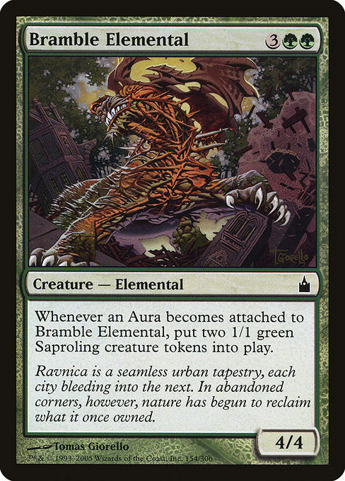 Bramble Elemental [Ravnica: City of Guilds] | Murphy's Vault