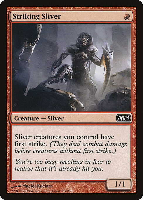 Striking Sliver [Magic 2014] | Murphy's Vault