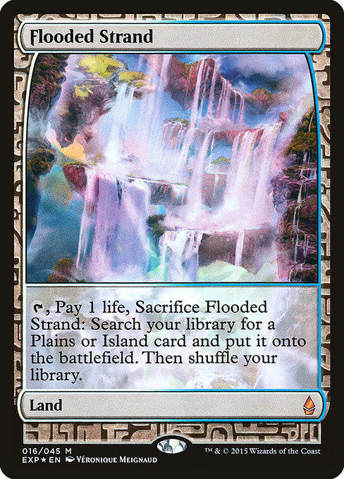 Flooded Strand [Zendikar Expeditions] | Murphy's Vault