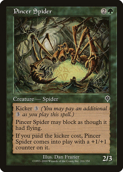 Pincer Spider [Invasion]