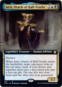 Atris, Oracle of Half-Truths (Extended Art) [Theros Beyond Death] | Murphy's Vault