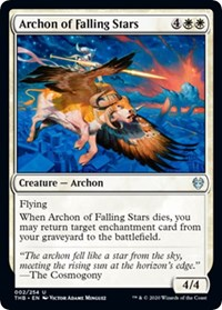 Archon of Falling Stars [Theros Beyond Death] | Murphy's Vault