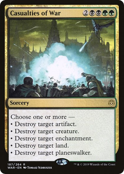 Casualties of War [Promo Pack: Zendikar Rising] | Murphy's Vault