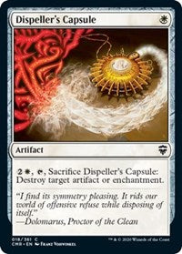 Dispeller's Capsule [Commander Legends] | Murphy's Vault