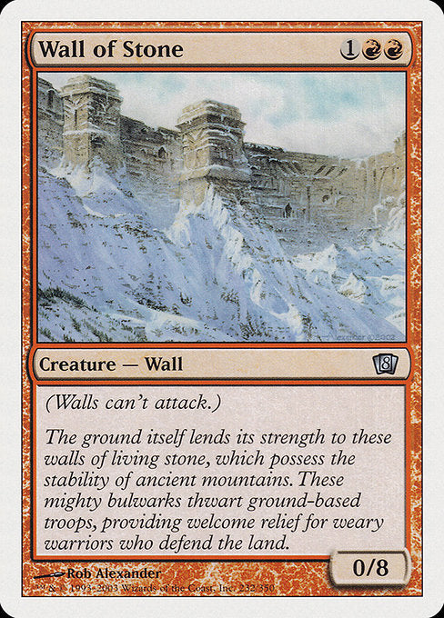 Wall of Stone [Eighth Edition] | Murphy's Vault