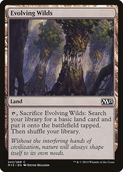 Evolving Wilds [Magic 2015]