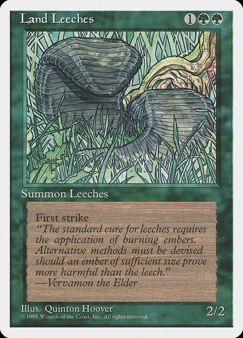 Land Leeches [Fourth Edition] | Murphy's Vault