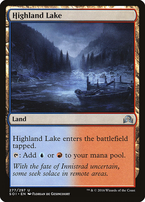 Highland Lake [Shadows over Innistrad] | Murphy's Vault