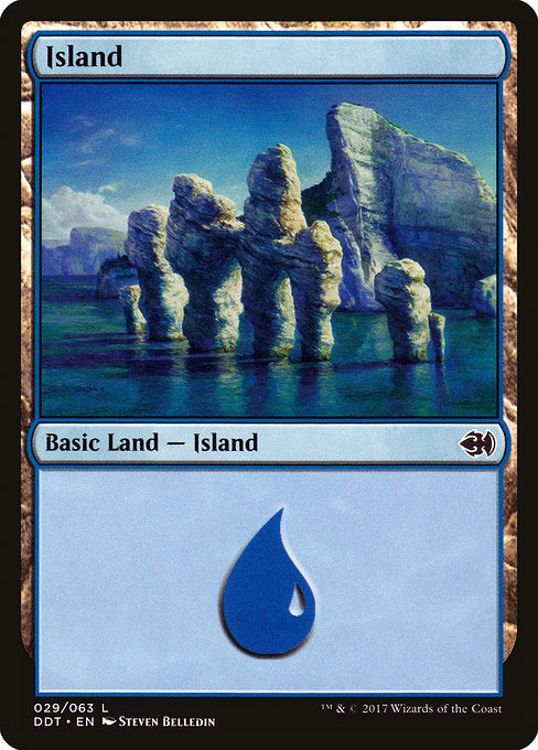 Island [Duel Decks: Merfolk vs. Goblins]