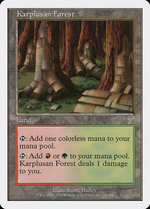 Karplusan Forest [Seventh Edition] | Murphy's Vault