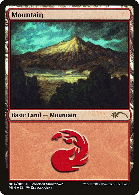 Mountain (Rebecca Guay) [XLN Standard Showdown] | Murphy's Vault