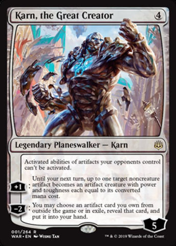 Karn, the Great Creator [War of the Spark]