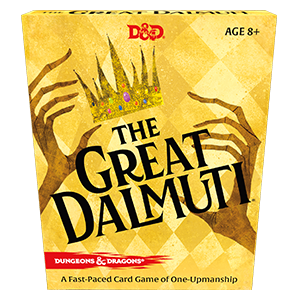 The Great Dalmuti - Dungeons & Dragons Card Game | Murphy's Vault