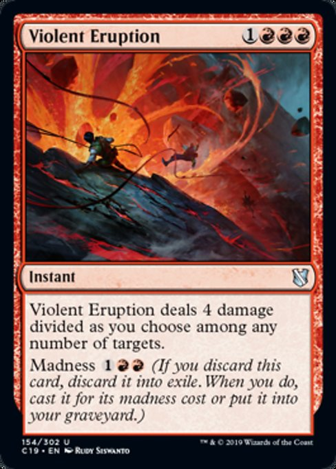 Violent Eruption [Commander 2019] | Murphy's Vault