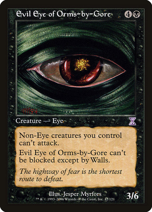 Evil Eye of Orms-by-Gore [Time Spiral Timeshifted] | Murphy's Vault