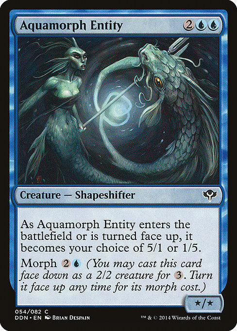Aquamorph Entity [Duel Decks: Speed vs. Cunning] | Murphy's Vault