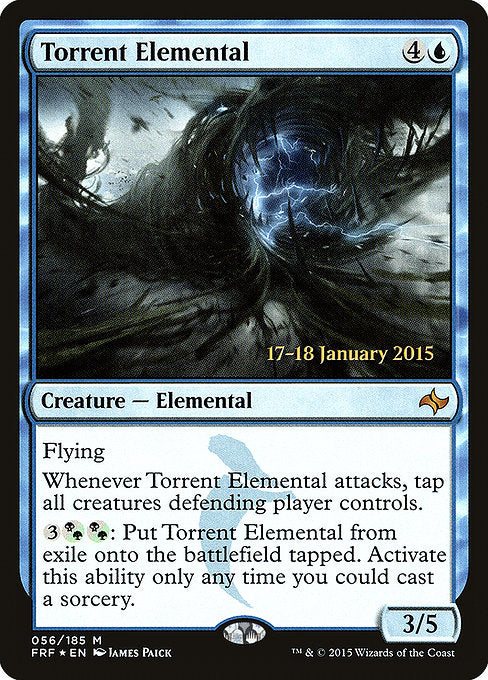 Torrent Elemental [Fate Reforged Promos] | Murphy's Vault