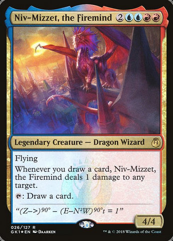Niv-Mizzet, the Firemind [GRN Guild Kit]