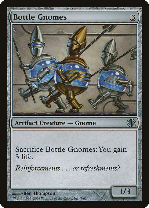 Bottle Gnomes [Duel Decks: Jace vs. Chandra]