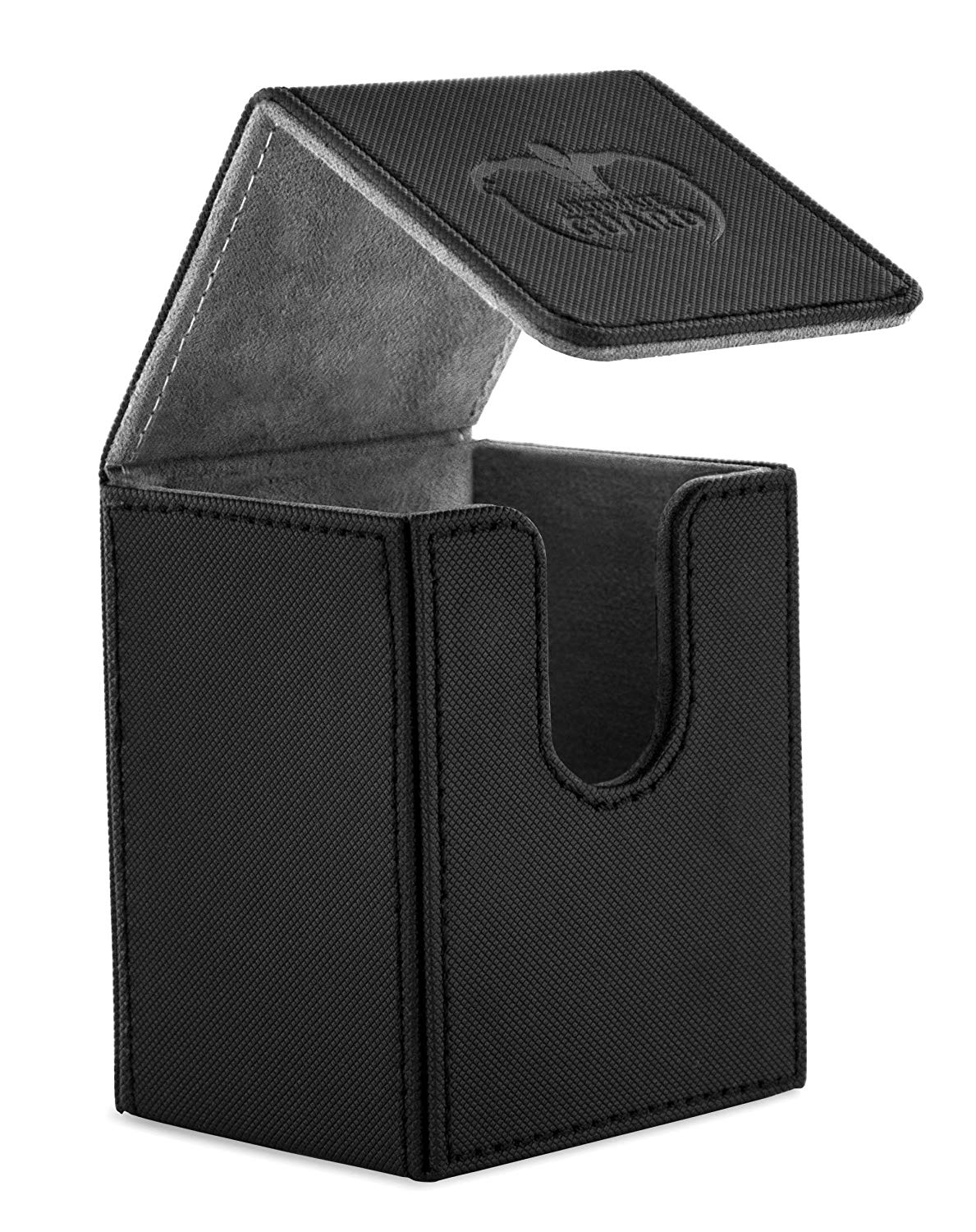 Ultimate Guard Xenoskin Flip Deck Case (100+) Black | Murphy's Vault