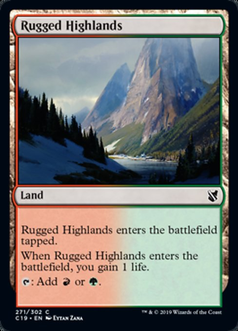 Rugged Highlands [Commander 2019] | Murphy's Vault
