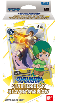 Digimon Card Game: Starter Deck- Heaven's Yellow ST-3 - Pre-Order | Murphy's Vault