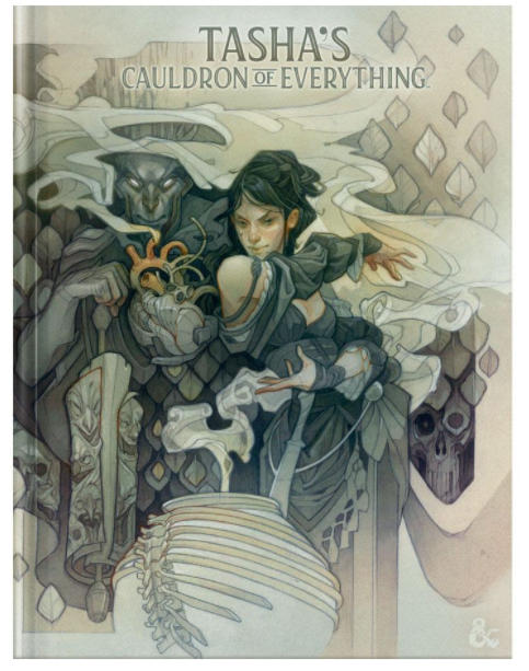 D&D Tasha's Cauldron of Everything - Alternate Cover - Dungeons & Dragons 5e | Murphy's Vault