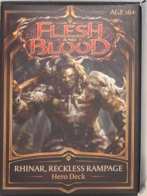 Flesh & Blood TCG - Welcome to Rathe Hero Deck - Thinar, Reckless Rampage - Pre-Order | Murphy's Vault