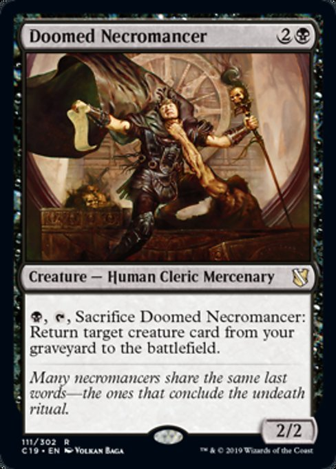 Doomed Necromancer [Commander 2019] | Murphy's Vault