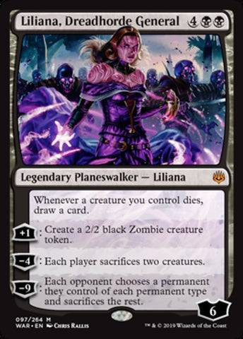 Liliana, Dreadhorde General [War of the Spark]