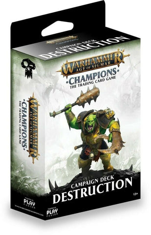 Warhammer Champions Starter Deck - Destruction