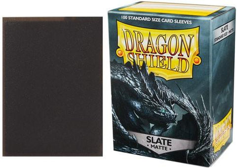 Dragon Shield Sleeves: Slate (Box Of 100)