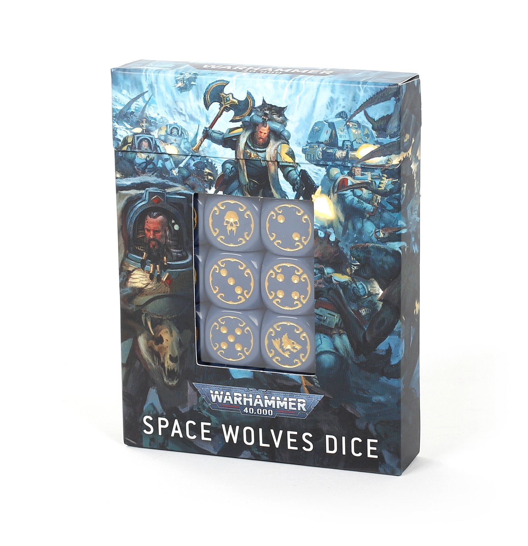 Space Wolves Dice Set | Murphy's Vault