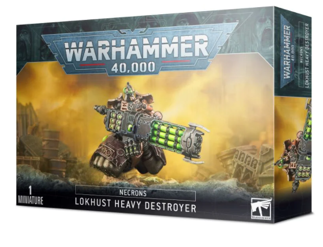 Necrons Lokhusts Heavy Destroyer | Murphy's Vault