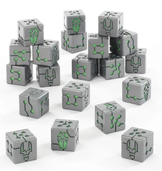 Necrons Dice Set (No longer Manufactured) | Murphy's Vault