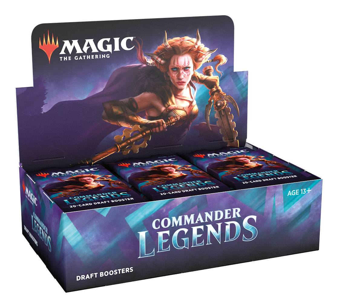Commander Legends - Draft Booster Box | Murphy's Vault