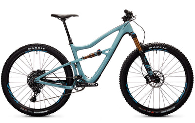 Ibis Ripley 29er Full-Suspension Carbon MTB in Steel Blue