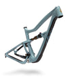 Ibis Ripley 29er Full-Suspension Carbon MTB Frame in Steel Blue, Front View