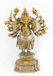 Lord Ganesha Murti with 14 Arms