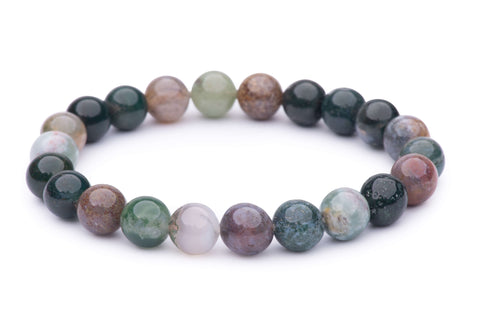 Fancy Agate Power Bracelet