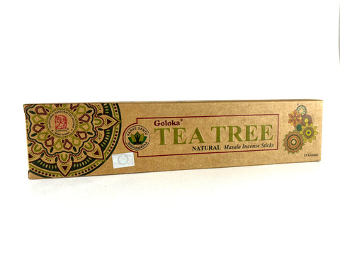 Goloka Tea Tree Natural Masala Incense Sticks