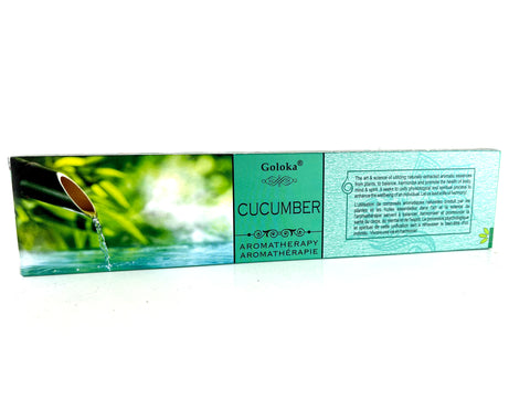 Goloka Cucumber Aromatheraphy Incense Sticks