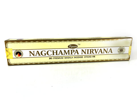 Ppure Nagchampa Nirvana Premium Masala Incense Sticks