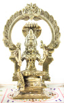 Mariamman with Arch Brass Murti