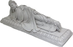 White Sleeping Buddha
